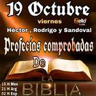 'PROFECÍAS COMPROBADAS DE LA BIBLIA' CON Héctor, Sandoval, Rodrigo