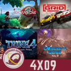 GR (4X09) Los juegos que acompañarán a PS5, Riot va a por Blizzard, Indivisible, Concrete Genie, Trine 4 y GRID