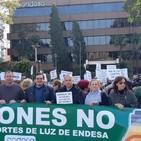 Declaraciones de José Ruiz alcalde de Peñaflor sobre concentración en Endesa