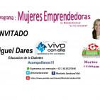 Miguel Dares y Hector Lara entrevista e informacion sobre Vivo con ella (Diabetes)
