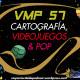 Vaya Mierda de Podcast 57#: CARTOGRAFÍA, VIDEOJUEGOS & POP