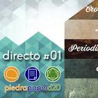#Directo01   Crowdfundings, la ballena azul, periodismo y rol...