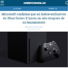 XBOX Series X, no tendrá exclusivos hasta 2021 (o 2022) - El Arte Muere Gaming.