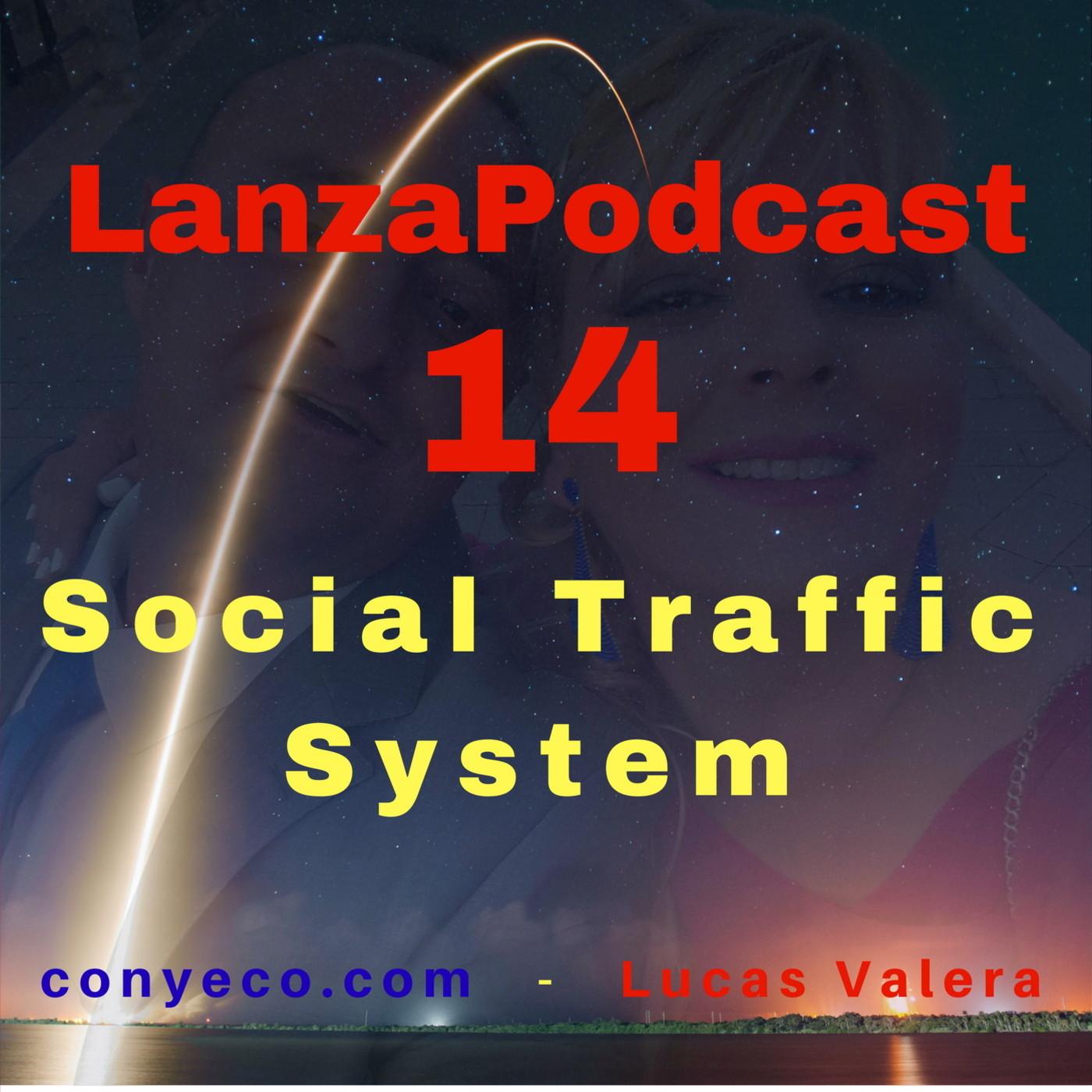 LanzaPodcast 14 Social Traffic System - Dos Softwares para Publicar Imágenes Virales, Clickables y con Enlaces Encub...