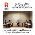 Primer debate en RRR #26MNavarraRRR