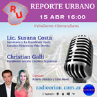 #ReporteUrbano 15/04/17 Semana Santa Aniversario Villa Devoto Comuna 11 Cultura Música Pascuas Actualidad Buenos Aires