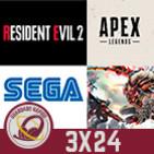 GR (3x24) ¿El declive de SEGA? Impresiones Apex Legends, Análisis Resident Evil 2 Remake y God Eater 3