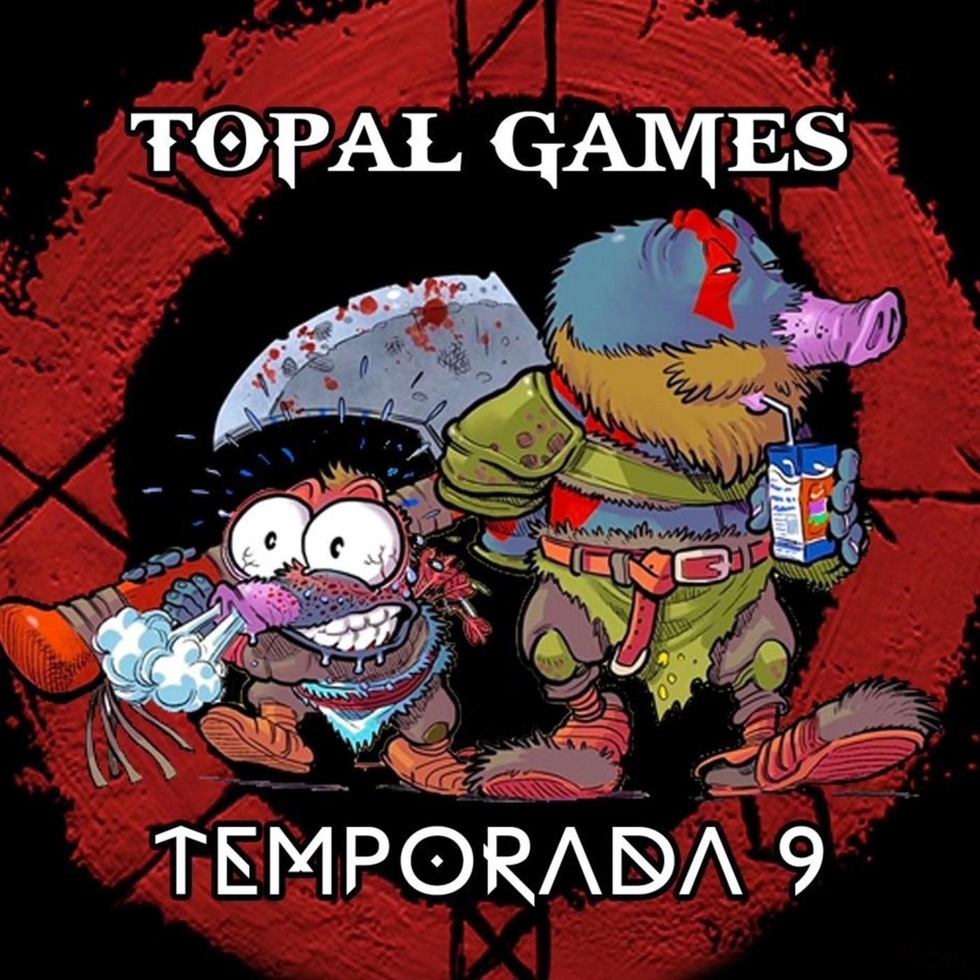 Topal Games (9x10) Persona 5 Royal, Sniper Elite 4, Octopath Traveler, Assassins Creed Valhalla