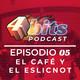 4 Bits podcast EPISODIO : 05 El café y el eslicnot