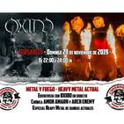 Corsarios - Entrevista OXIDO y heavy metal actual - Programa del domingo 23 noviembre 2019
