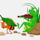 354. La cigarra y la hormiga.