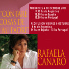Rafaela Canaro con Eduardo Aldiser y Oscar Pedro Juliano - Radio Nueva Argentina 5-10-2017