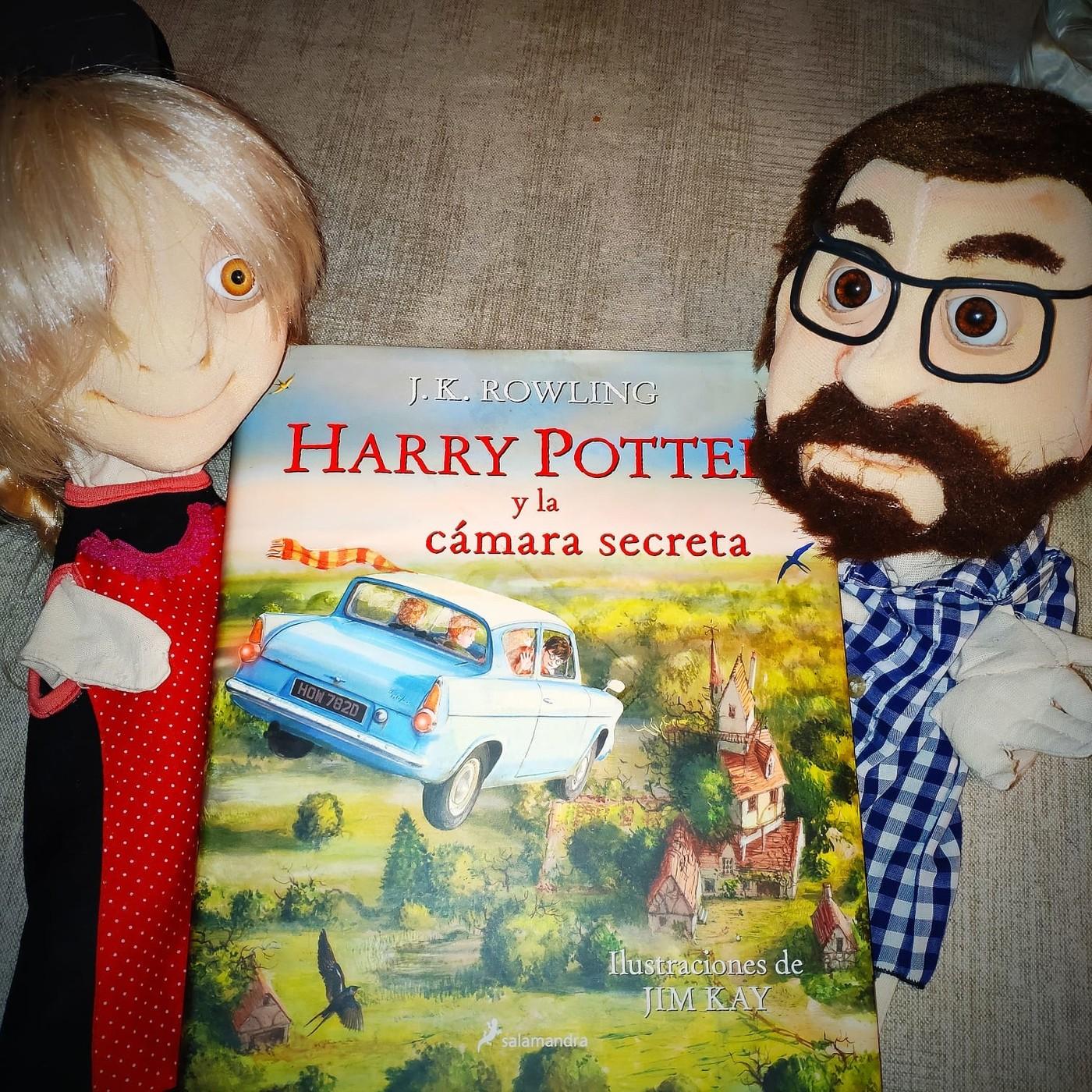 Harry Potter y la Cámara Secreta - Capitulo 2 - Lara y Manu Leemos