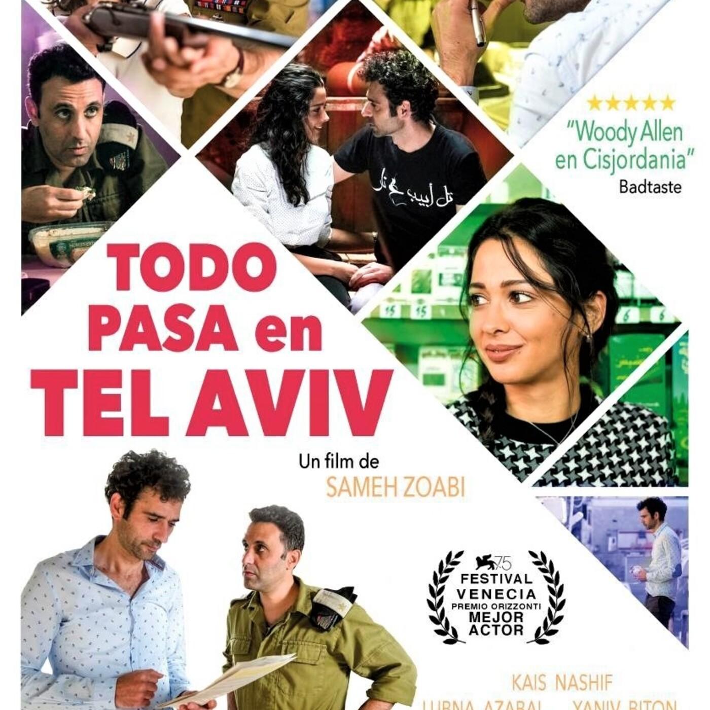 Todo Pasa en Tel Aviv (2018) #drama #comedia #peliculas #audesc #podcast