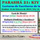 PARASHÁ 21: KIY TISÁ' (Cuando hagas)