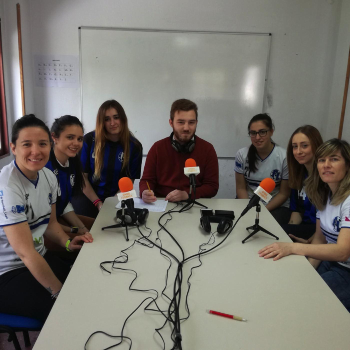 CUF Leganés Femenino en Leganés Deportivo