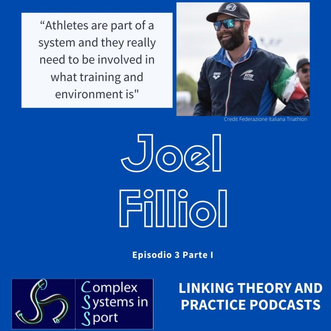 """Joel Filliol: """"Athletes are part of a system and they really need to be involved in what training and environment is"""""""