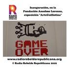 """Inauguración, en la Fundación Anselmo Lorenzo, de la exposición """"ArteGuillotina"""""""
