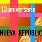 13 años Radio La Nueva República @ELBOTE