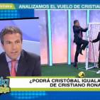 Cristóbal Soria: 'Lo mejor del Real de Madrid está por llegar'