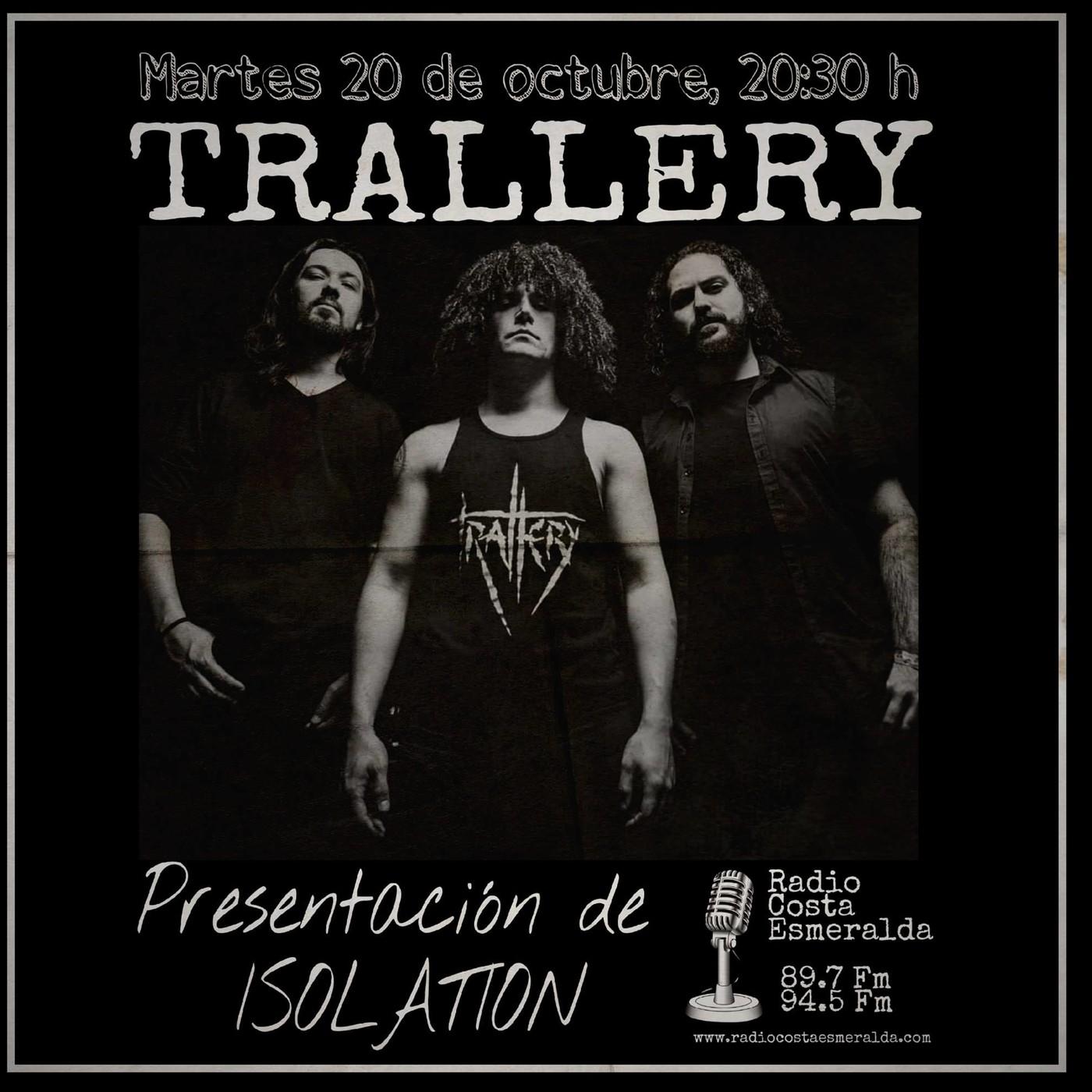 TRALLERY presentación en Radio Costa Esmeralda