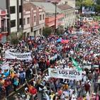 Prefecturas del país marcharon en Quito en rechazo a reforma al Código de la Democracia planteada por CONAGOPARE