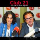 Club 21 - El club de les ments inquietes (Ràdio 4 - RNE)- MERCÈ BREY (02/06/18)