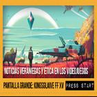 Press Start 02/10/16: Noticias veraniegas 2016 y ética en los videojuegos, Pantalla Grande: Kingsglaive FF XV