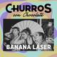 Churros en casa con Banana Láser