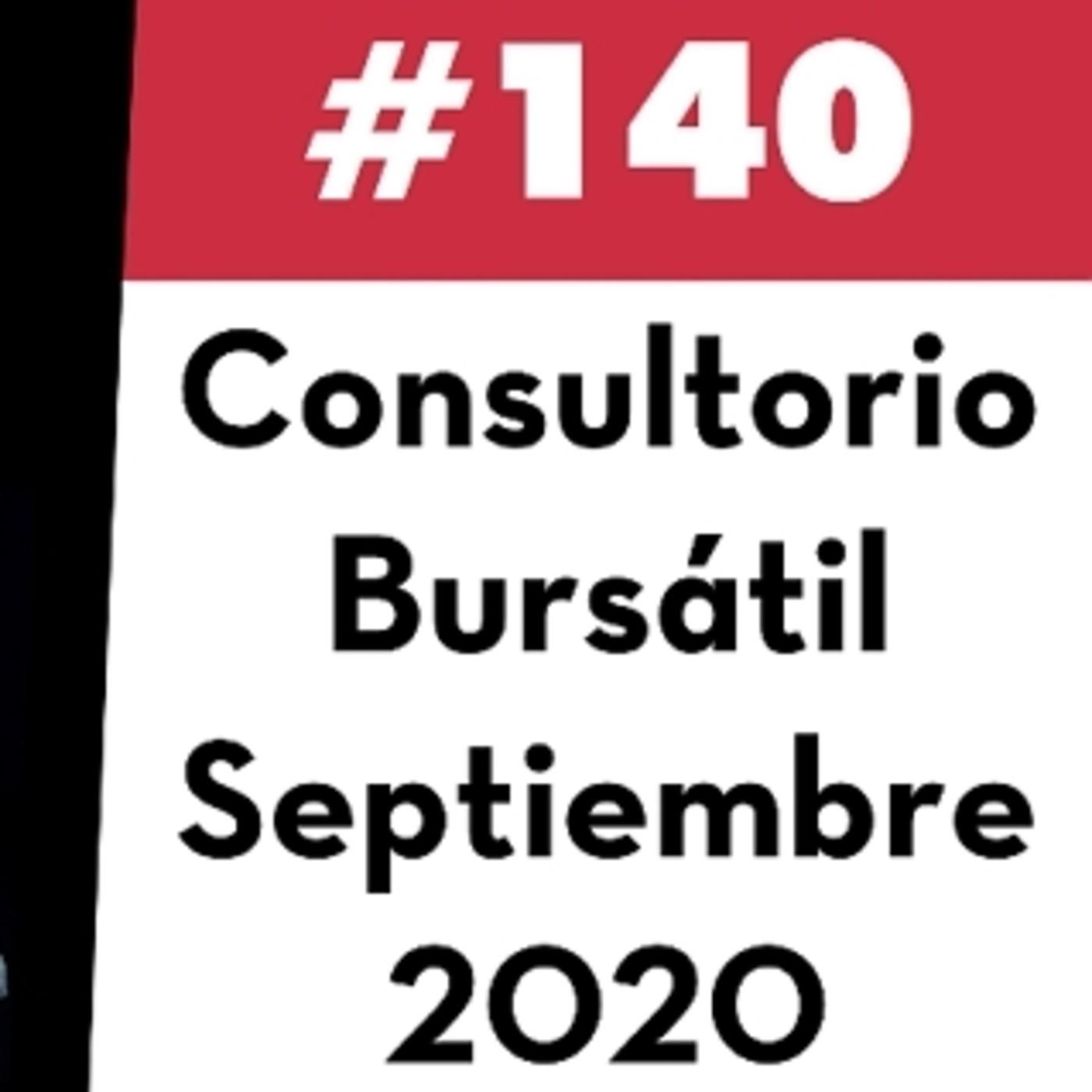 140. Consultorio Bursátil - Septiembre 2020