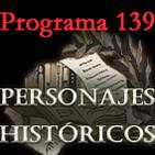 Programa 139. Personajes históricos