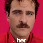 Her (2013) #Cienciaficción #Romance #Drama #Dramaromántico #Comediadramática #Internet #Informática