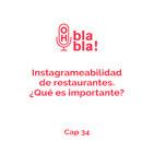 Instagrameabilidad de restaurantes. ¿Qué es importante?
