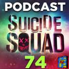 Programa 74 - El Sótano del Planet - Crítica Suicide Squad/Escuadrón Suicida