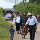 Marcha contra la cementera San Gabriel-Cementos Progreso. San Juan Sacatepéquez(Guatemala).