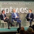 El futuro es hoy. José María Aznar y Pablo Casado