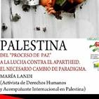 Imperdible charla de maria. landi. palestina del proceso de paz a la lucha contra el apartheid e