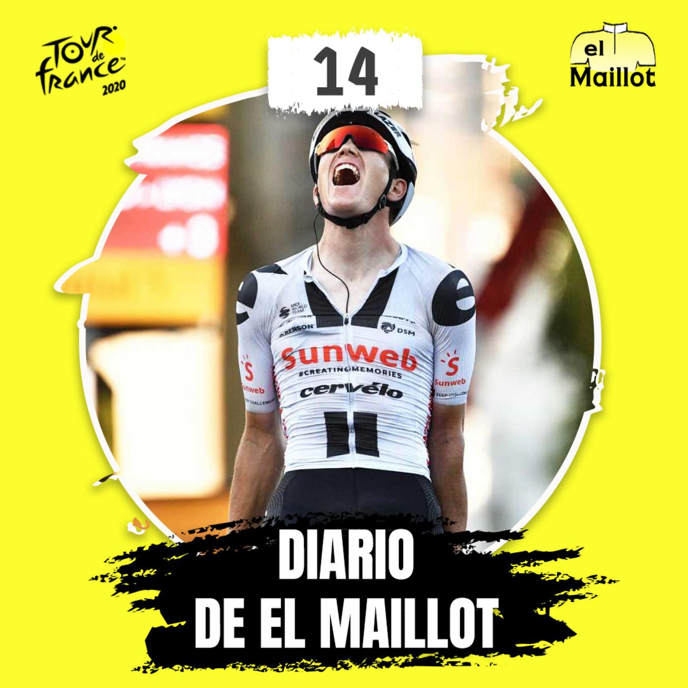 Diario El Maillot | Tour de Francia 2020: 14ª etapa