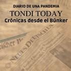 """TONDI TODAY: Diario de una pandemia. 12 """"Mente y espíritu con Pedro Girón y Eva Carrasco""""."""