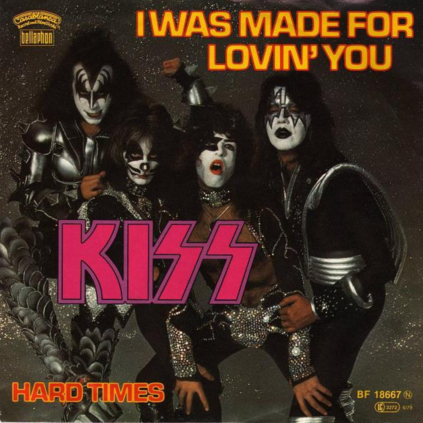 KISS - I was made for loving you (1979)