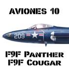 AVIONES 10 #86 F9F Panther/Cougar ataque embarcado