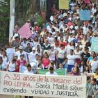 """""""Solo teníamos el cántico de las aves y la sombra de los árboles"""". Santa Marta(El Salvador)."""