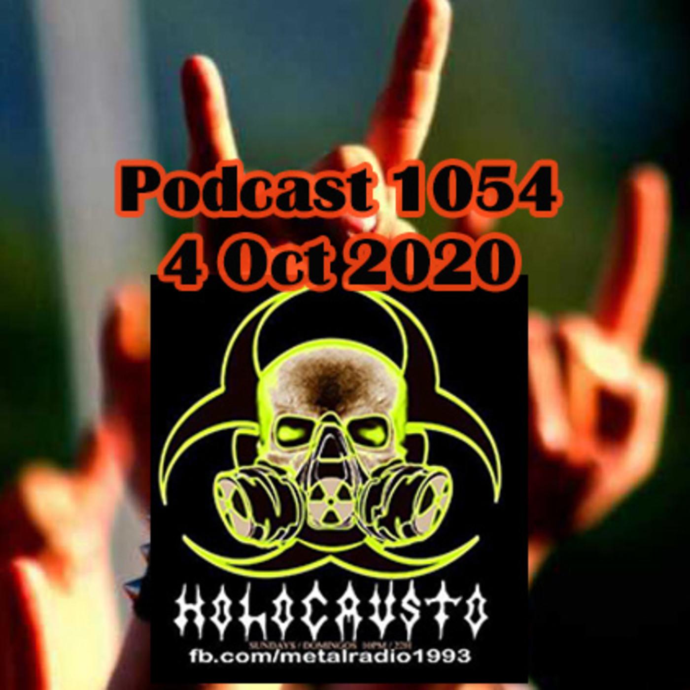 Radio Holocausto - Metal Radioshow Podcast 1054 4 Oct 2020