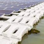 Mina Los Bronces instala paneles solares flotantes