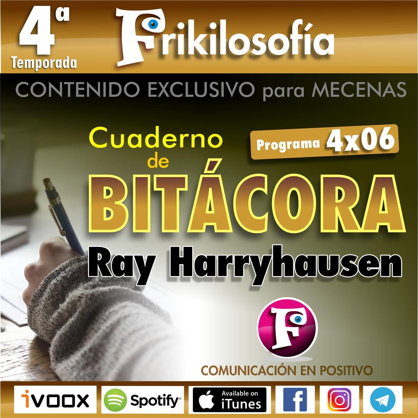 4x06. Contenido exclusivo. 100 AÑOS DE RAY HARRYHAUSEN. Cuaderno de bitácora.