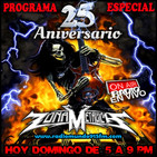 ZONA METALICA (parte 1) PROGRAMA ESPECIAL DE ANIVERSARIO N°25 (9- junio-2019)