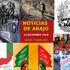 Noticias de abajo 13 de Diciembre 2019
