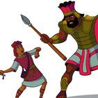 29. David y Goliat