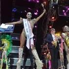 Borja Casillas, reinona del Carnaval de Telde