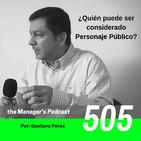 ¿Quién puede ser considerado Personaje Público? | 505